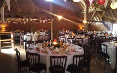 Full wedding service at Barford Park Farm