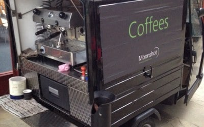 Mobile coffee cart London & UK