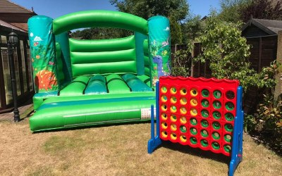 Warrington Hot Tub and Bouncy Castle Hire 1