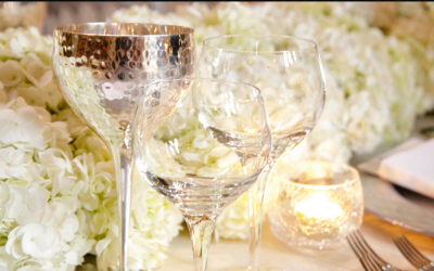 Linen and table dressing for wedding
