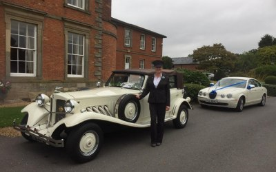 Wedding Cars at Ansty Hall