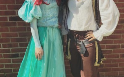 Ariel and Pirate Jack!