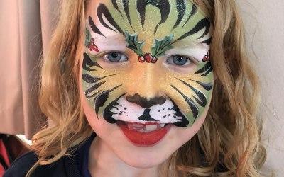 Rosie Cheeks Face Painting 2