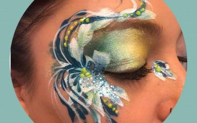 Rosie Cheeks Face Painting 1