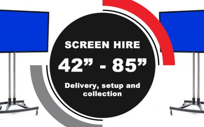 Screen hire in Lancashire and Cumbria