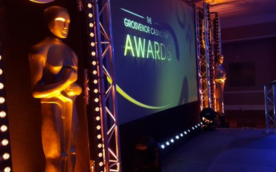 Awards dinners lighting and sound in Lancashire and cumbria