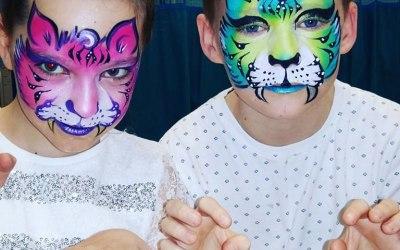 Geordie Face Painter