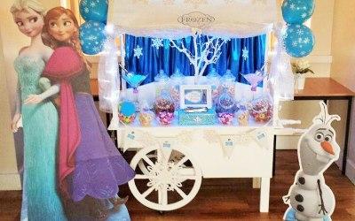Frozen Candy Cart