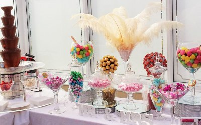 Candy Buffet and Fountain combo