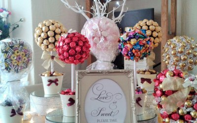 Selection of candy trees