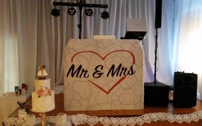 A Typical Wedding Setup