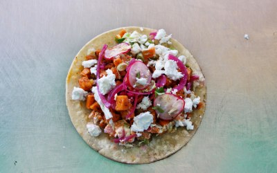 El Huichol - Smoky Sweet Potato Veg Taco SIngle