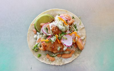 El Huichol - Tempura Battered Fish Single Taco