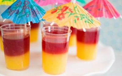 Tequila Sunrise's dessert