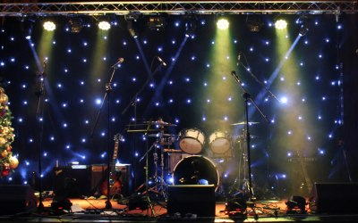 Bandshop Sound & Light backline hire