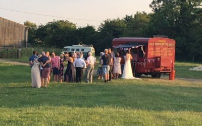 The Hungry Plaice - Teepee Festival Wedding