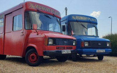Vintage Fish And Chip Van Hire