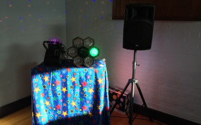 My party set up