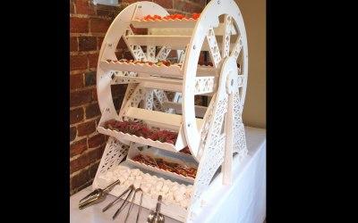 Ferrous wheel sweets