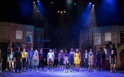 Lighting for 'West Side Story' at Derby Theatre