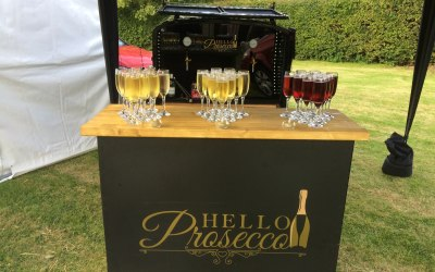 Mobile Prosecco Bar Northamptonshire