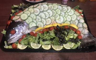 Whole Dressed Salmon