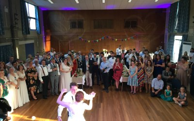 First Dance at a Wedding in Frodsham