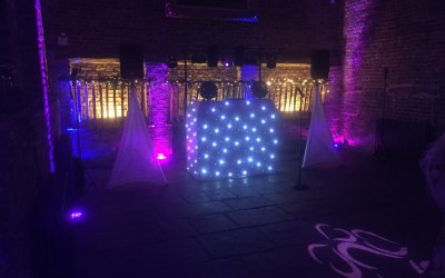 Gold Package set-up at Meols Hall, Tithebarn, Churchtown, Southport