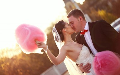 Candyfloss at your wedding
