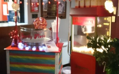 Candy Floss & Popcorn stalls