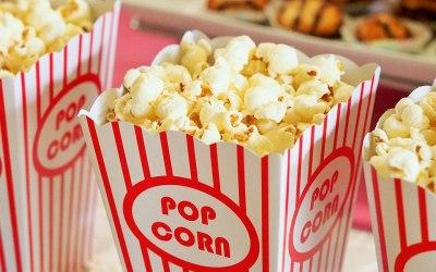 Delicious fresh Popcorn