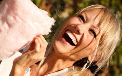 Candy Floss enjoyment