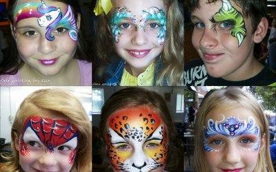 Face painting-children parties
