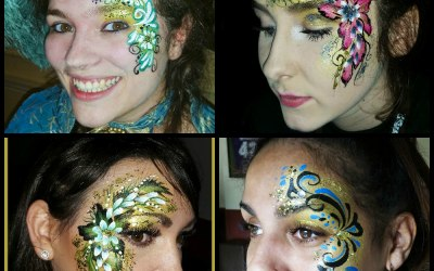 The best face painter in Shropshire
