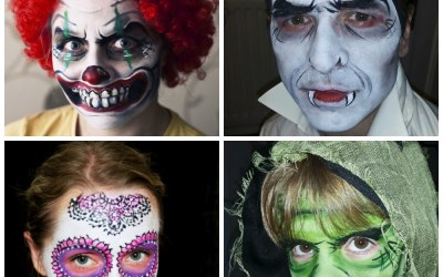 Halloween face painting_Telford