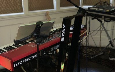 Showing the nord keyboard electro 6hp
