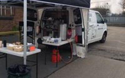 Espresso Espress Mobile Coffee Van