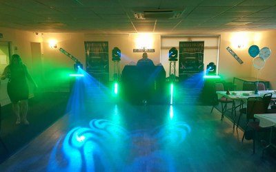 One of our lighting packages.