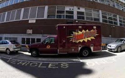 Our authentic Prank Patrol ambulance
