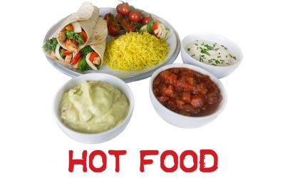 Hot food Catering