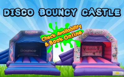 LOL Bouncy castle with slide
