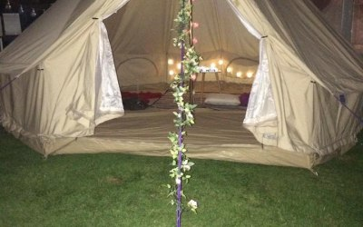 Lily Bell Tents Night Time