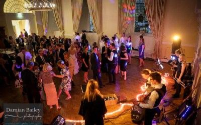 Crowd Dancing, wedding band