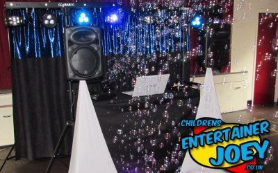 Kids DJ & Disco Party Entertainment
