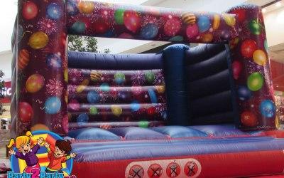 Celebrations Bouncy Castle - H-Frame