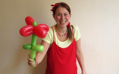 Bristol children's entertainment - balloon modeling