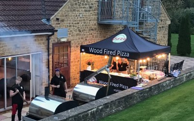 Pop up catering two ovens capacity ethic street pizza
