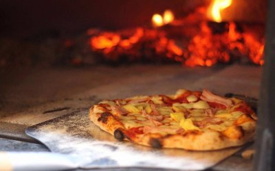 Artisan pizza wood fired ethic street pizza