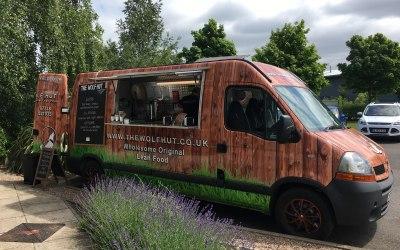 The Wolf Hut Food Van