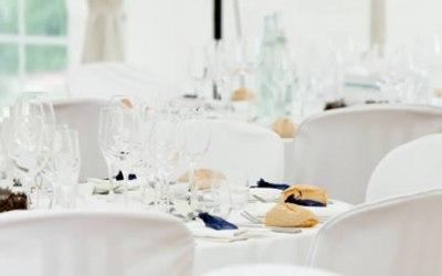 Royston Marquee Hire White Wedding